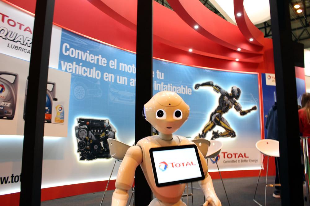 Robots para ferias