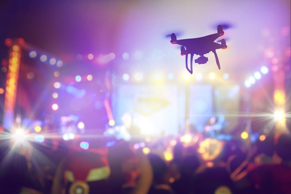 Drones para eventos