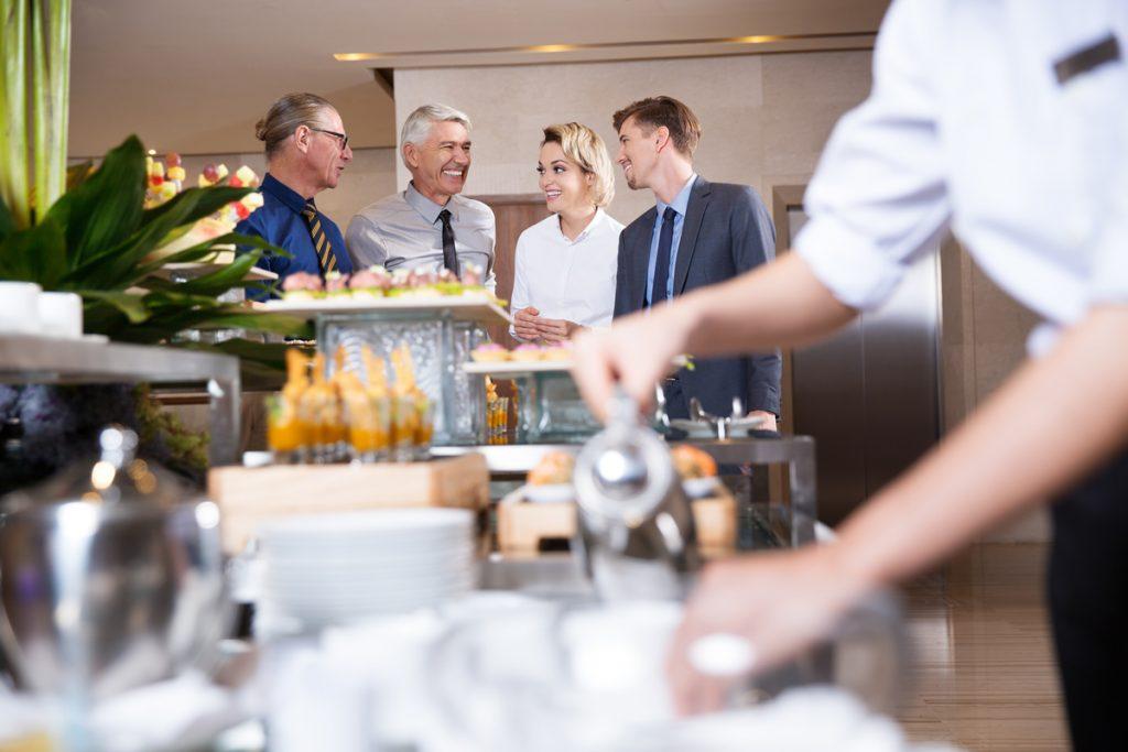Catering para actividades para empresas