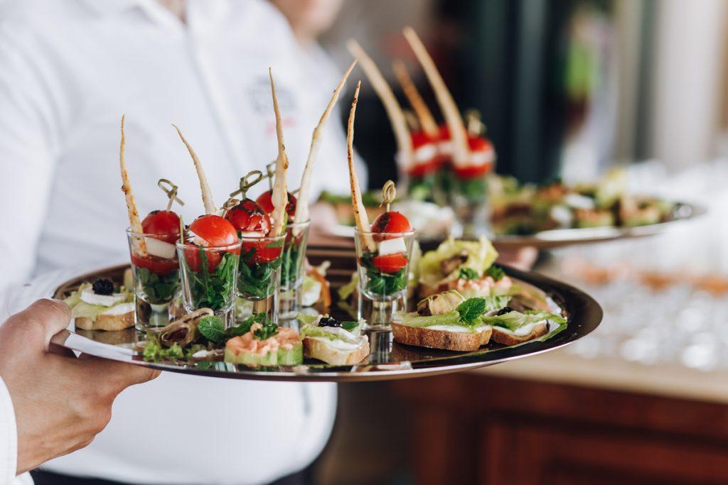Catering en eventos formativos