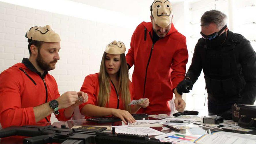 Escape Room en equipo y con actividades Team Building