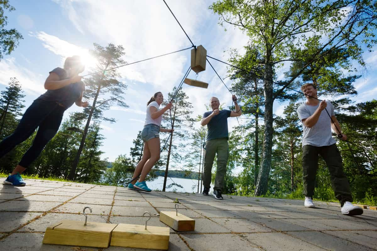Actividades en la naturaleza y Team Building en exteriores para empresas