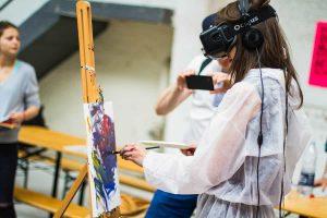 Team building pintura y arte